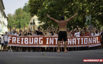 Fanfotos: SC Freiburg – NK Domzale