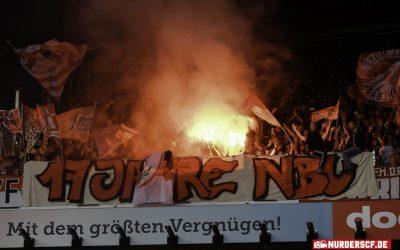 Werder Bremen – SC Freiburg // 17 Jahre NBU (Pyro)