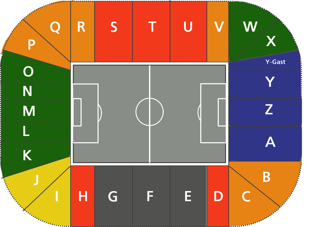 Fc Augsburg Stadionplan
