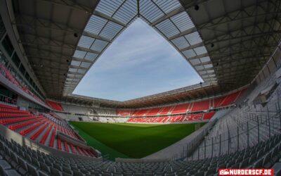 Stadionbaustelle am 22.02.2021