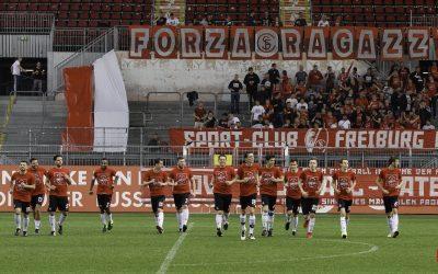 Fanauswahl Mainz – Fanauswahl Freiburg