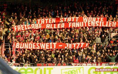 Borussia Dortmund – SC Freiburg // 12 Minuten Protest